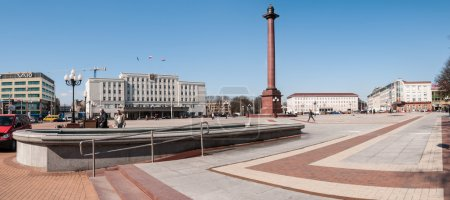 Victory Square, center place. Kaliningrad. Russia