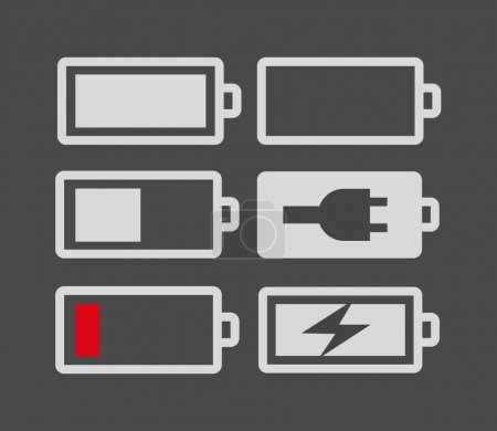 Set of battery charge level