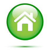 Home icon on gree