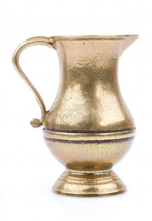 Antique Hammered Brass jug