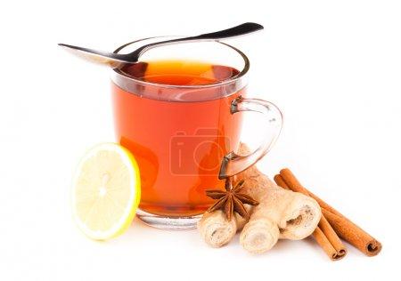 Photo pour Tasse de thé - image libre de droit