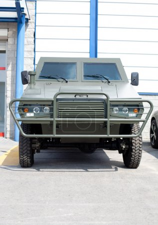 Armored infantry car