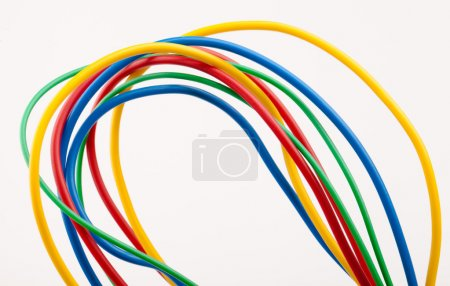 Multicolored cable