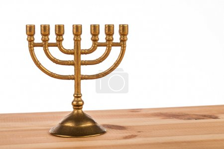 Candlestick on a table