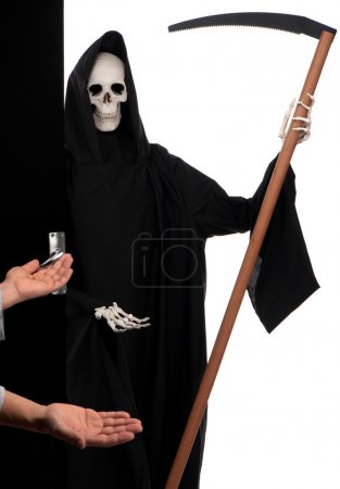 Death at door