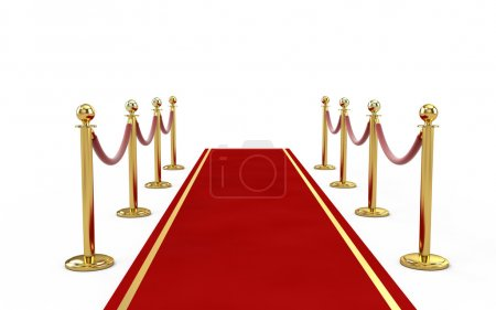 Photo for Red Carpet - Royalty Free Image