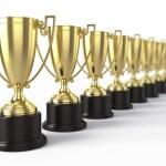 Trophy cups...