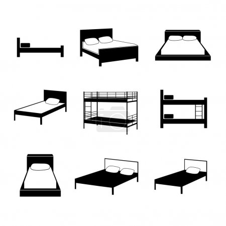 Bed icons