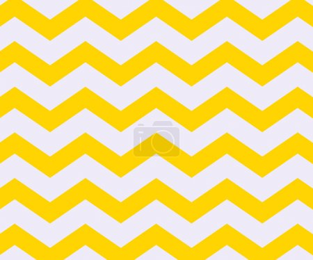 Photo for Yellow Chevron Texture - Royalty Free Image