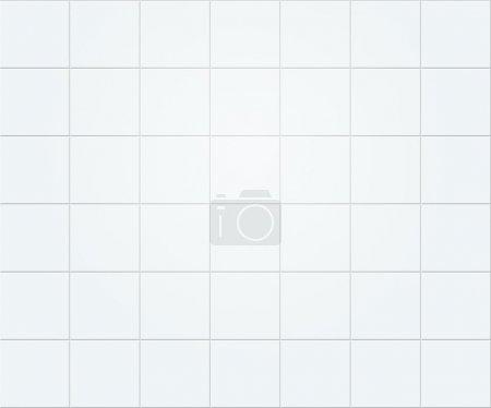Photo for White Tiles Texture - Royalty Free Image