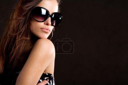 Sunglasses portrait