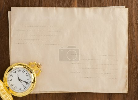 watch pen at envelope
