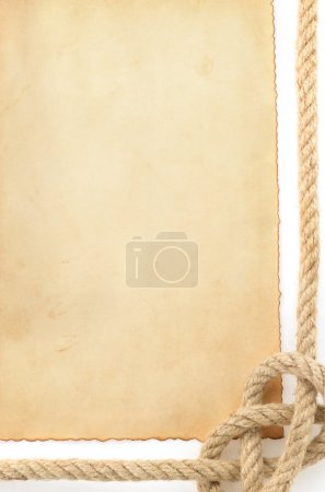 ropes and old paper