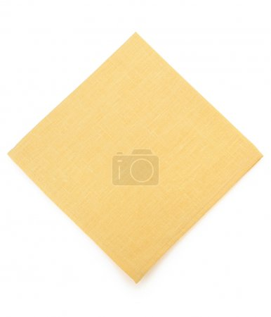 napkin on white