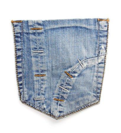 jeans blue pocket