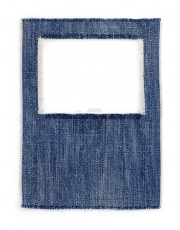 jeans blue texture on white
