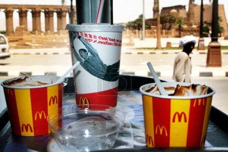 McDonalds fast food restaurant in