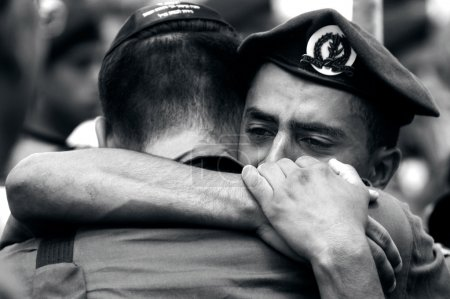 Soldiers grief