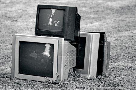 télévision cassée