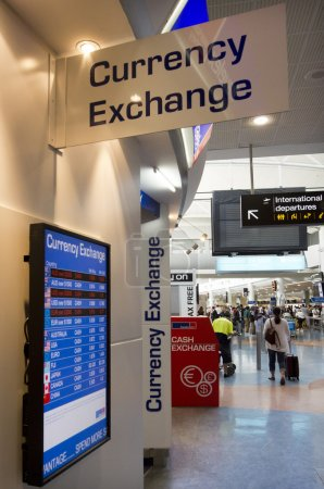 Currency exchange service - Bureau de change