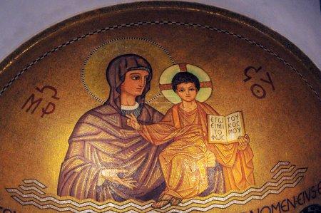 Eglise de l'abbaye de Hagia Maria Sion au Mont Sion. Jérusalem