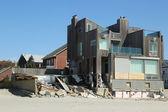 Zničil pláž domy zničené oblasti šest měsíců po hurikánu sandy