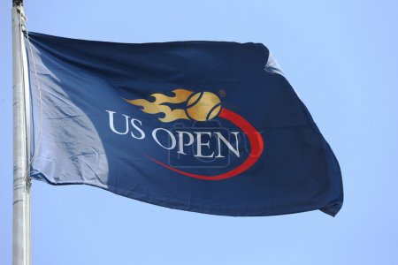 US Open flag at Billie