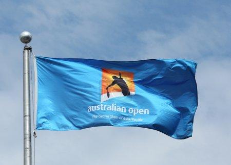 The Australian Open flag