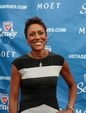 TV anchor Robin Roberts at