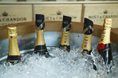 Moet and Chandon champagne presented at the National Tennis Center during US Open 2013