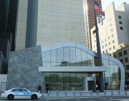 Photo pour New york city - 27 juin : ronald h. brown États-Unis mission aupres des nations Unies inspirant 27 juin 2013 à manhattan à new york. nommé après la fin nous Secrétaire au commerce ronald h. brown - image libre de droit