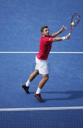 Professional tennis player Stanislas Wawrinka