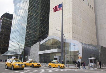 Photo pour New york city-20 mars : ronald h. brown États-Unis mission aupres des nations Unies, à manhattan à partir de 20 mars 2014 à new york. nommé après la fin nous Secrétaire au commerce ronald h. brown - image libre de droit