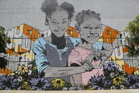 Mural at East Williamsburg in Brooklyn