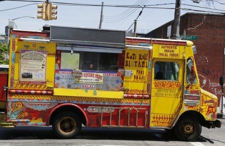 Famous Desi Food Truck at East Williamsburg in Brooklyn