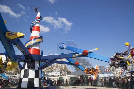 BROOKLYN, NY - MAY 17: Air race on May 17, 2104 in...