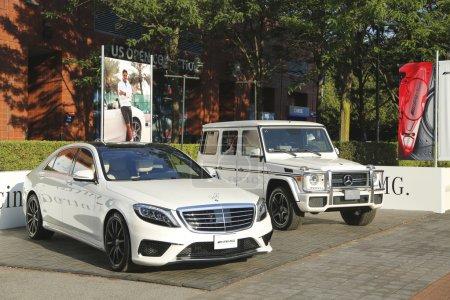 Mercedes Benz cars at National