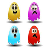Ghost emoticons