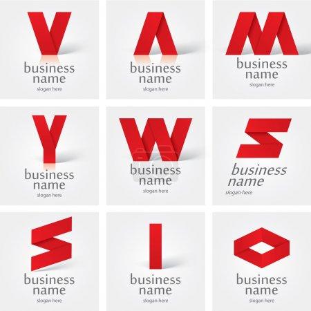 Illustration for Vector logo design elements - Royalty Free Image
