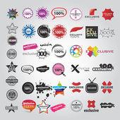 Set template of Logotype