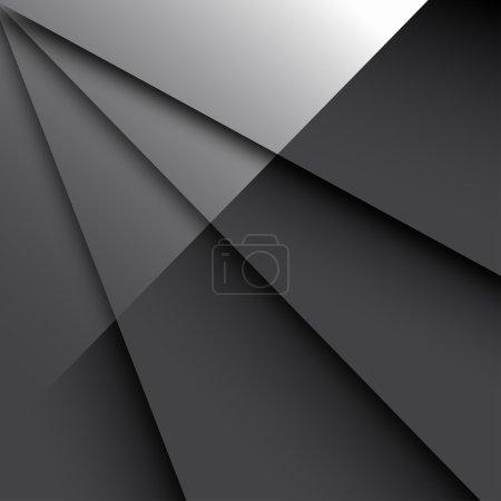 Illustration for Dark Glossy Background - Royalty Free Image