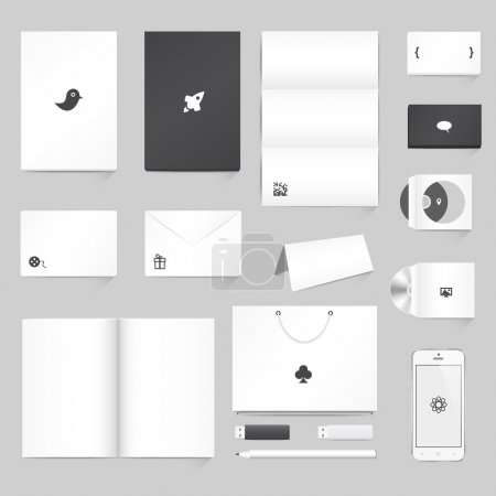 Corporate Identity Mockup Templates