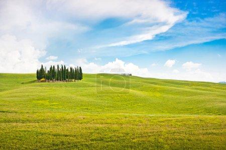 Scenic landscape in Tuscany, Italy