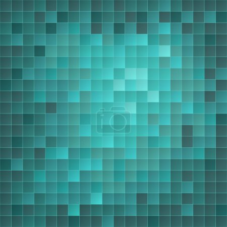 Azure EPS10 mosaic background