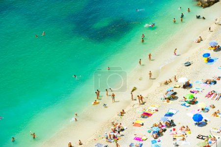Beach of the Cote d Azur, Villefranche