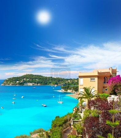 Beautiful mediterranean landscape, french riviera