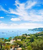 mediterranean sea. french riviera landscape