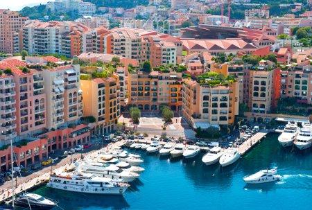Fontvieille, new district of Monaco