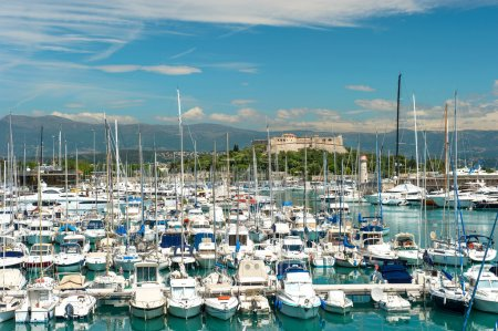 famous village Antibes near Nice, Cannes and Monaco