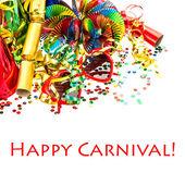 Karneval party dekorace girlandy, konfety, návazce